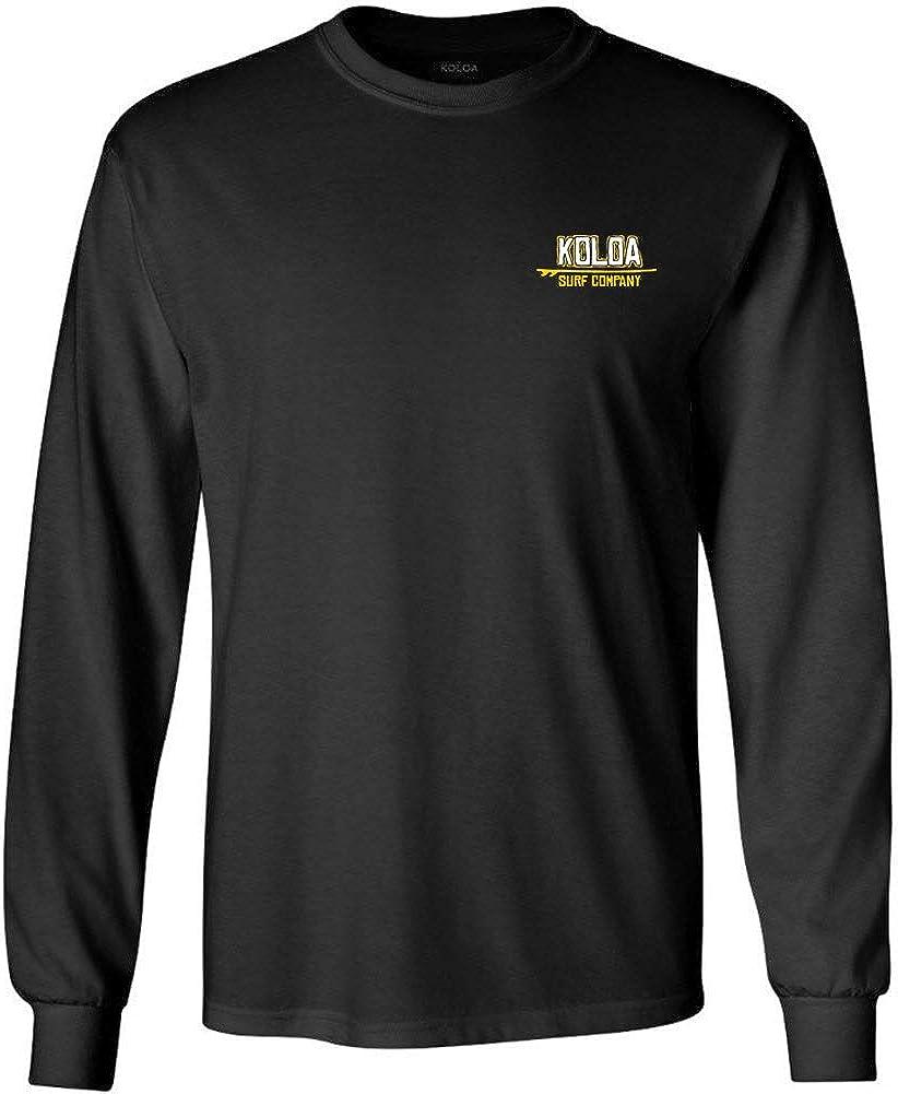 Koloa Surf Long Sleeve Heavyweight Cotton T-Shirts in Regular, Big and Tall