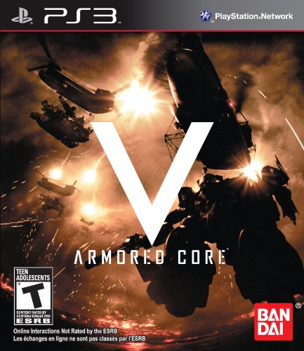 Armored Core V - Playstation - Arm Core Armored