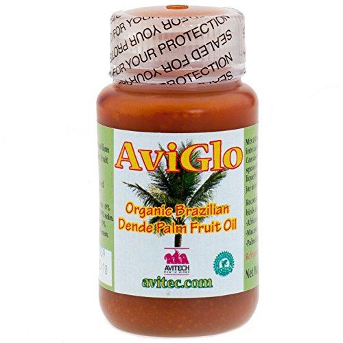 Avitech Aviglo Organic Red Dende Palm Oil 8 Oz