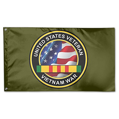 United States Veteran Vietnam War Decal Sticker 100% Polyest