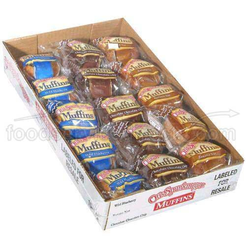 Otis Spunkmeyer Delicious Essentials Variety Muffin, 2.25 Ounce -- 96 per case. by Otis Spunkmeyer