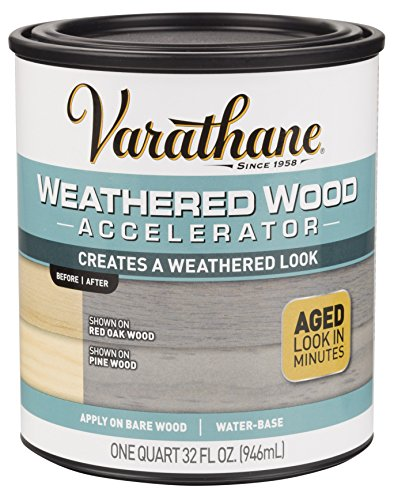 Rust-Oleum 313835 Varathane Weathered Wood Accelerator (Paint Wood Pine)