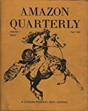 img - for Amazon Quarterly: a Lesbian-Feminist Arts Journal, fall 1972, vol 1 no 1 book / textbook / text book