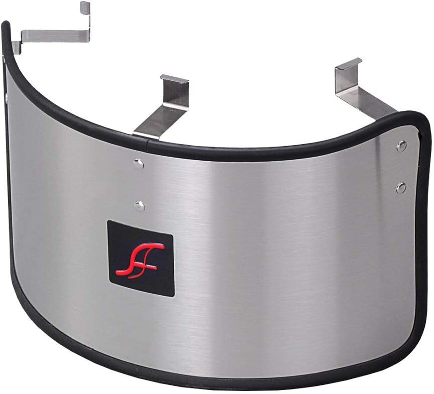 """AF DYNAMIC UNIVERSAL STAINLESS STEEL HEAT SHIELD COVER Compatible for 2.75""""-3.5"""" AIR FILTER"""