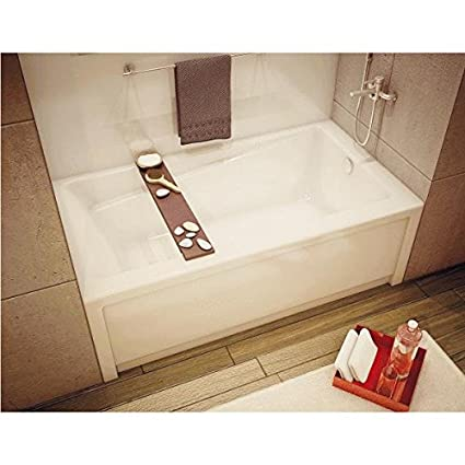 Maax USA Inc   White Rh Soaking Tub