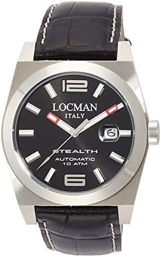 LOCMAN watch stealth automatic mechanical self-winding Men's 0205 020500BKFNK0PSK Men's [regular imported goods]