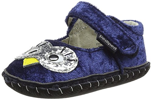 Pictures of pediped Girls' Originals Jazzy Crib Shoe Navy 2374 1