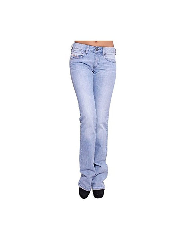 Diesel - Diesel Jeans Woman Blue Ronhary Jean Stretch Slim Fit Bootcut Denim