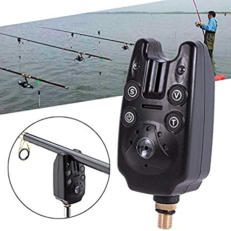 Amazon.com: Fishing Bite Alarms and LED Fishing Swinger ...