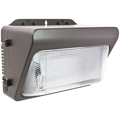 Salt Air Wall Pack Light, 100-277 Volt, c/UL, Wet Location, 3000 K ,50 Watt, 3759 Lumen