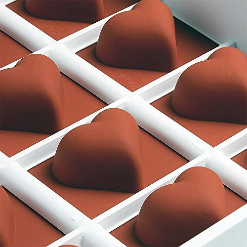 Matfer Bourgeat 339016 Fruit Jelly Flexible Heart (Fruit Jelly Flexible Mold)