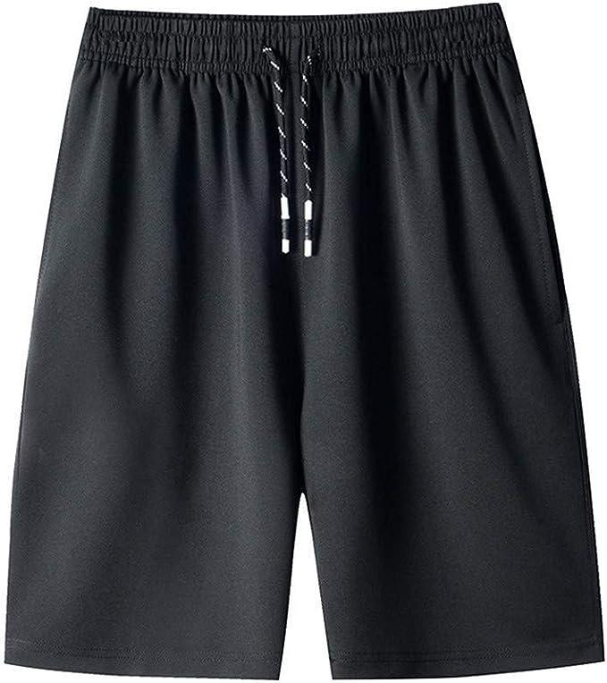 Hombres Monocromo Hombres Bermudas Pantalones De festiva Ropa Cortos Algodón Shorts Chinos Pantalón Corto Con El Traje De Baño Del Cordón Pantalones Cortos De Natación Del Boxeador Pantalones Cortos: Amazon.es: Ropa y
