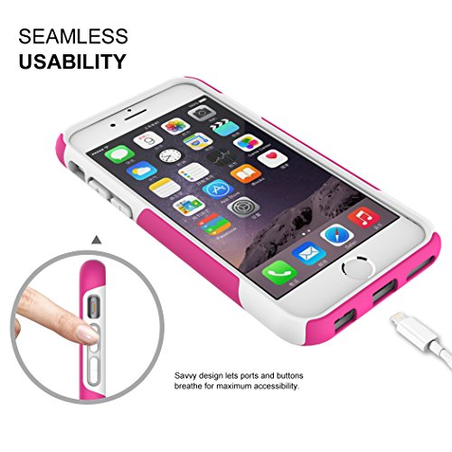 Iphone 6s case totu candy series dual layer soft for Interior iphone 6