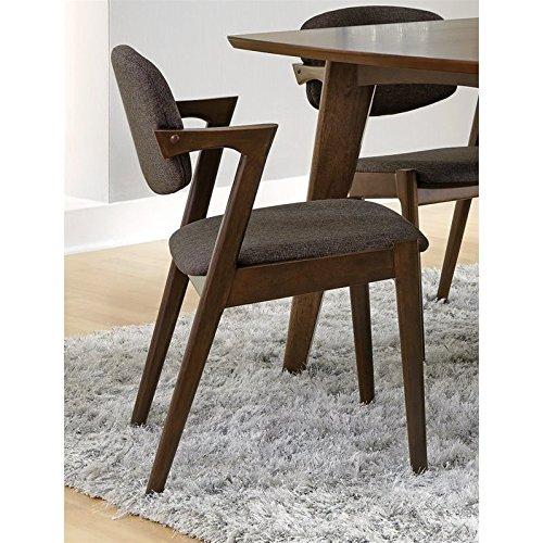 Coaster 105352 Home Furnishings Side Chair , Dark Walnut