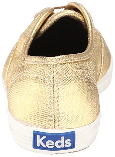 Keds - Zapatillas de Lona para mujer Dorado