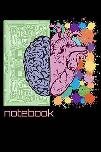 Notebook: Brain Neurology Surgeon Zombie Forensic Medical Student Homework Book Notepad Notebook Composition and Journal Gratitude Diary Gift Present ()
