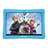 10.1 Kids Tablet, IPS FHD Safety Eye Protection Screen, Android 7.0, 2GB+32GB, 2.0+5.0MP Dual Cameras, Preloaded Learning & Training Apps for Kids,Bluetooth/WiFi and Free Kid-Proof Case (Blue)