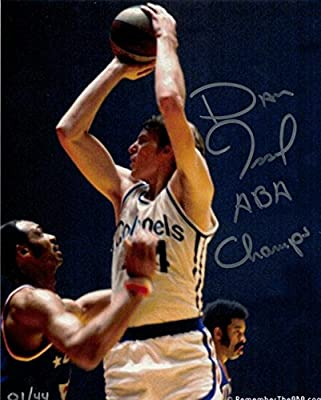 "Dan Issel Autographed Kentucky Colonels 8x10 Photo 1/44 ""aba Champs"" 11745 - Autographed NBA Photos"