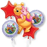 Party America Winnie The Pooh Balloon Bouquet