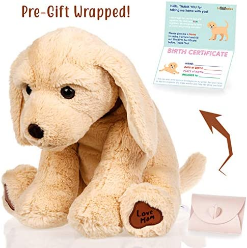 Dog stuffed animals Valentines Christmas