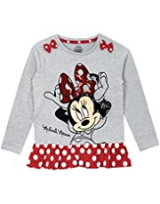 Disney Minnie Mouse Girls' Minnie Mouse Long Sleeved Top