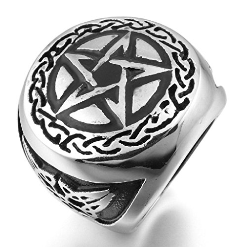 epinkifashion-jewelry-mens-stainless-steel-rings-silver-black-pentacle-pentagram-round-signet-vintag