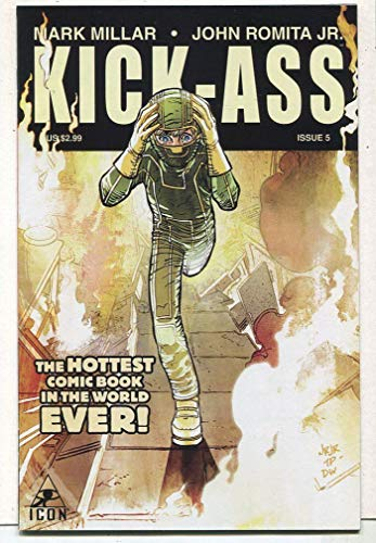 Kick-Ass #5 NM The Hottest Comic Book In The World Ever ICon Comics CBX13