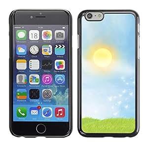 LECELL -- Funda protectora / Cubierta / Piel For Apple iPhone 6 Plus 5.5 -- Prairie --