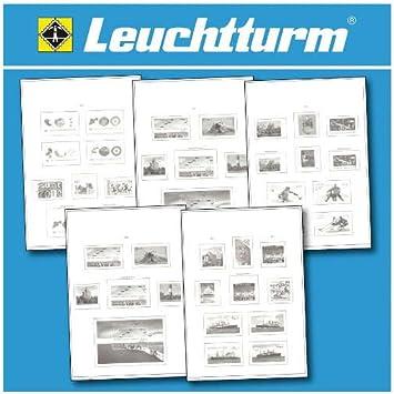 Leuchtturm 312706 SF-Hojas preimpresas España 1976-1984: Amazon.es: Juguetes y juegos