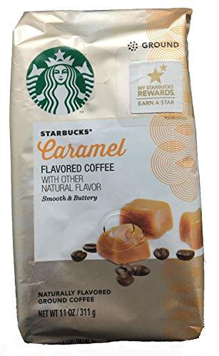 Starbucks Caramel Flavored Ground Coffee - 11 Ounces
