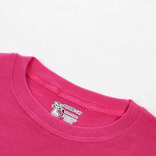 Older Grils Pyjamas for Girl Kids Toddler Unicorn Summer Sleepwear Short Sleeve Pjs Set Size 7-8 Years 8T