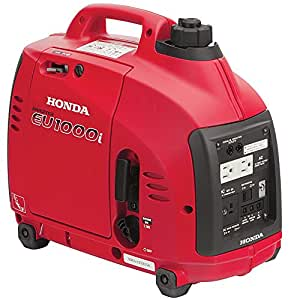 Super Quiet Honda EU1000i 1000 Watt Lightweight Portable Generator w Inverter-LA BOVA