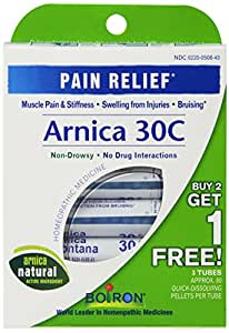 Arnica 30C Great Value 3 Tubes Single Pack Boiron