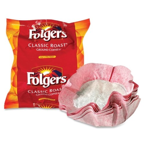 0.9 Ounce Boxes (Wholesale CASE of 5 - Folgers Regular .9oz Filter Packs Coffee-Folgers Filter, Regular, 9 oz., 40/CT)