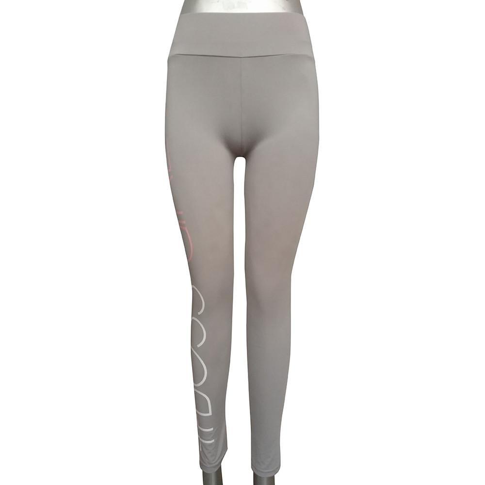 Sumen Lady High Waist Sport Gym Yoga Running Fitness Leggings Athletic Trouser bessky