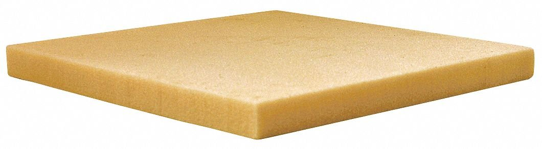 2'' x 48'' x 24'' Polyisocyanurate High Temperature Insulation, Density 2, FSK, Light Yellow