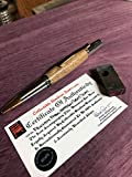 Genuine Fenway Park Seat pen with COA Boston Red Sox
