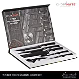 Chopmate 7 Piece Professional Knife Set Featuring