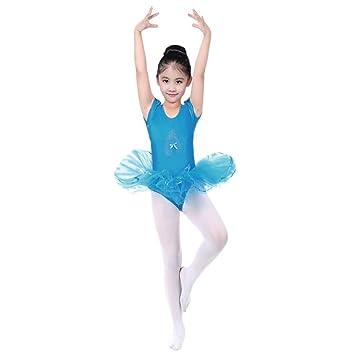 033c09b186f9 KaloryWee Girls' Sequined Ballerina Shoe Ballet Leotard Tulle Tutu  Dancewear Fairy Dress