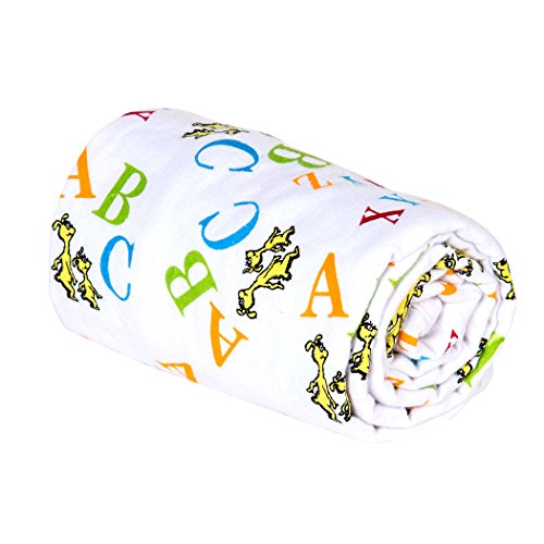 Trend Lab Swaddle Blanket, Dr. Seuss Abc