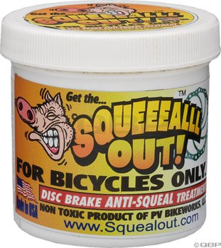 Squeal Out Anti-squeal Disc Brake Paste: 8oz Jar by Squeal Out