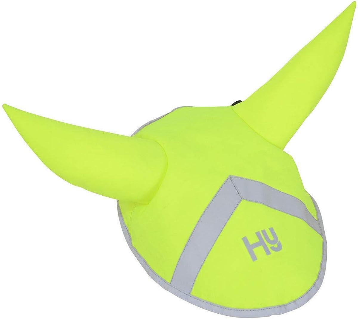 Yellow Y-H HyVIZ Reflector Ear Bonnet