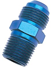 """Edelbrock/Russell 660480 -8AN Flare to 3/8"""" NPT Pipe Straight Adapter"""