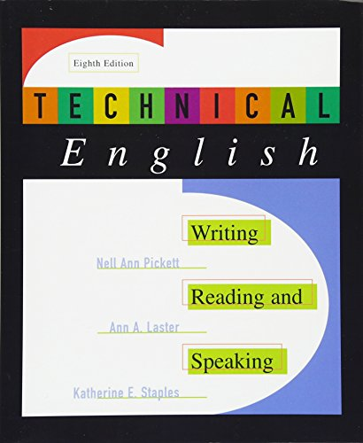 technical english writing Search for technical writer jobs writers have at least a bachelor's degree in english out as research specialists before they begin writing.