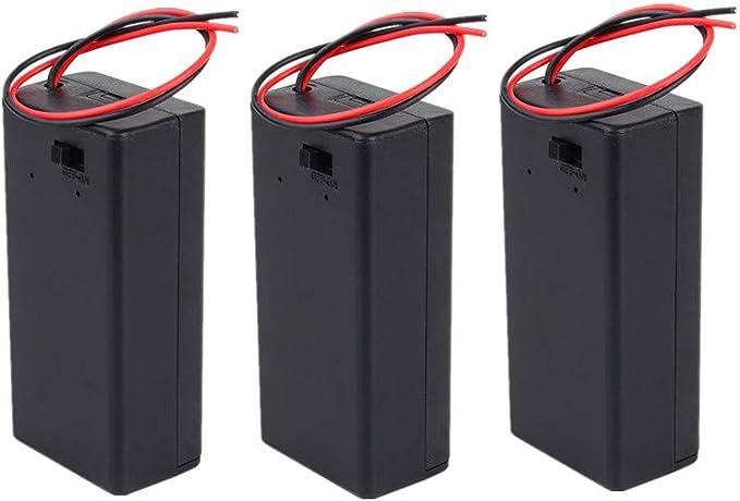 9v Volt Gehäuse Dc Gehäuse Mit Schutzkappe Ein Elektronik