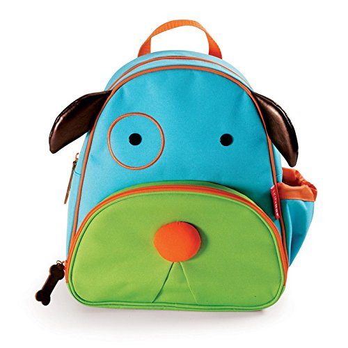 Skip Hop Zoo Toddler Kids Insulated Backpack Darby Dog Boy, 12-inches, Multicolored from Skip Hop