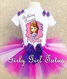 Sofia the 1st Princess Custom Birthday Outfit Set