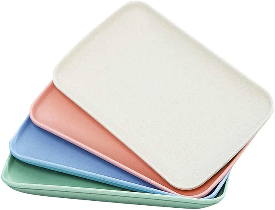 Unbreakable Rectangle Dessert Dinner Plates