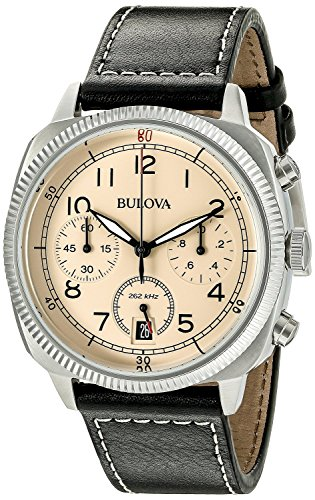 Bulova Men s 96B231 Analog Display Quartz Black Watch