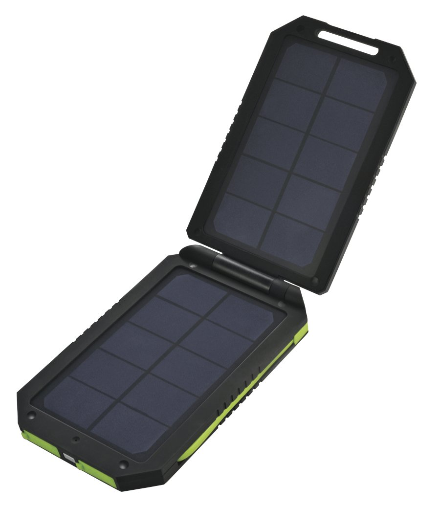 Amazon.com: Cobra Electronics Dual Panel Solar Cargador USB ...